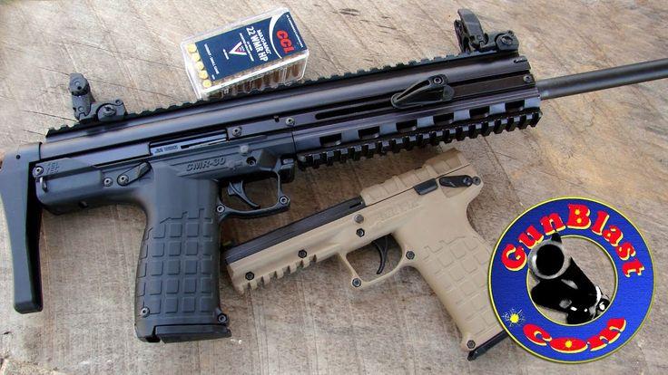 Shooting the Kel-Tec CMR-30 Lightweight 22 Magnum Semi-Automatic Carbine...