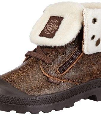 Palladium Baggy Leather S Boot (Toddler/Little Kid/Big Kid)