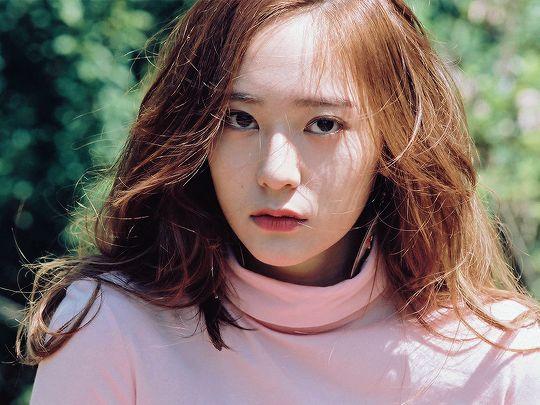 blue — dazzlingkai: krystal jung : 4 walls