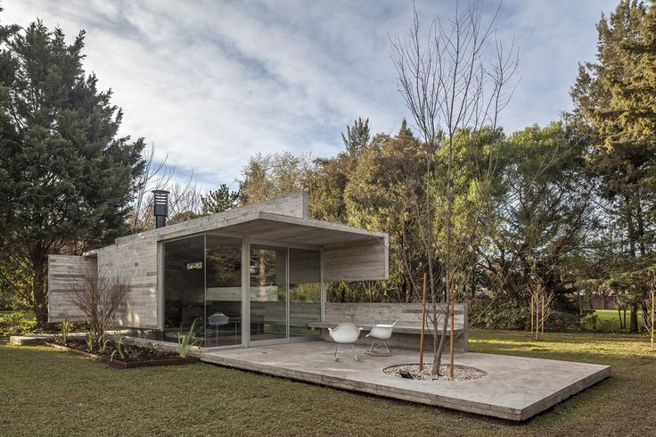 Torcuato House Pavilion in Buenos Aires Residential Development, Argentina Home…