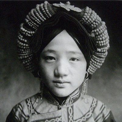 ZHUANG Xueben, Noble Tibetan Lady, Xing Hai Province, 1934. Western China 1934-1939