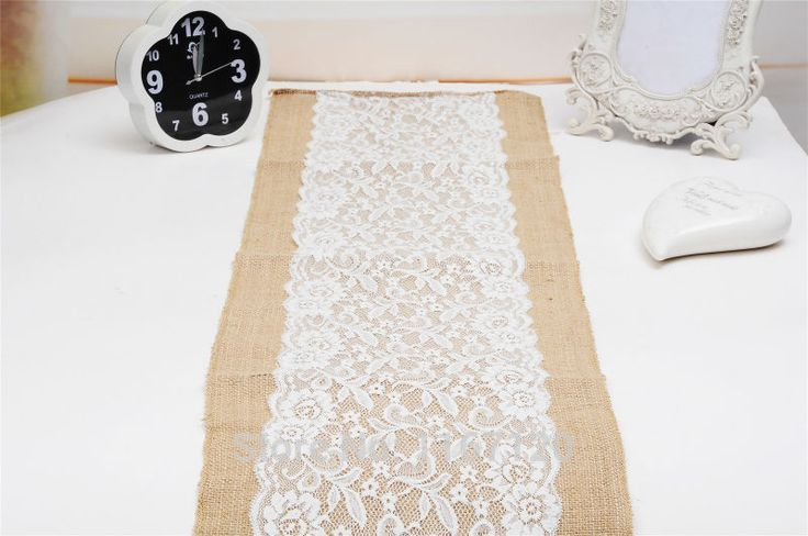 105*30cm Burlap ᗑ Hessian with Lace Center Crochet Table Runner ̿̿̿(•̪ ) For Wedding Decorative Tablecloths for SALE Table Lines Wholesale 105*30cm Burlap Hessian with Lace Center Crochet Table Runner For Wedding Decorative Tablecloths for SALE Table Lines Wholesale http://wappgame.com