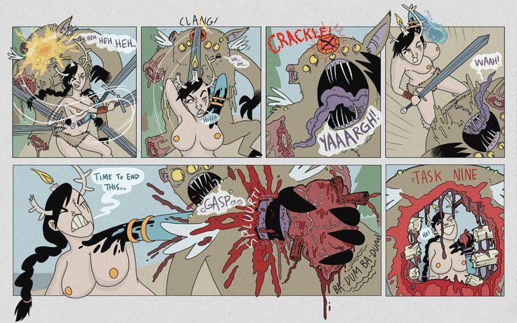 Ten Deadly Tasks    Comics - Ten Deadly Tasks Page 47
