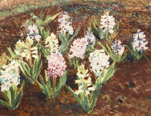 Hyacinths, 1921, Frantisek Kavan. Czech (1866 - 1941)