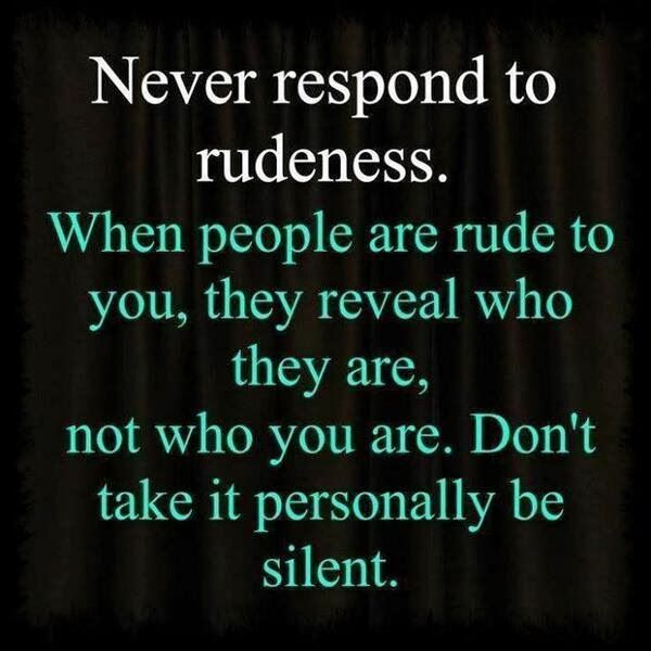 Mean Rude Quotes by @quotesgram