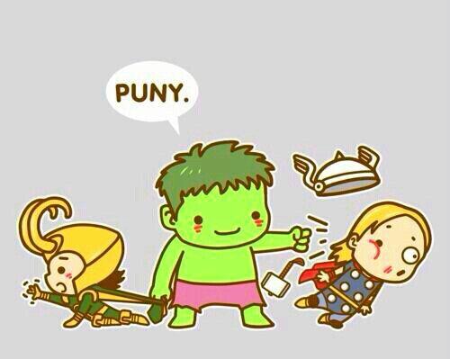 The Avengers: Loki, Hulk & Thor (Cute Cartoon) | adoreable ...