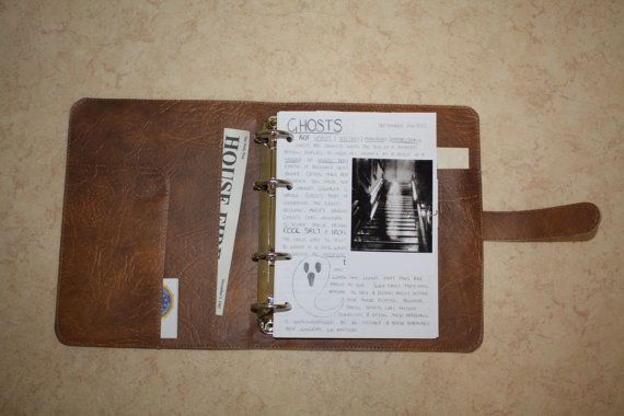 Supernatural John Winchester's Journal by PoisonousFrog on Etsy MOM GET YOUR MONEY