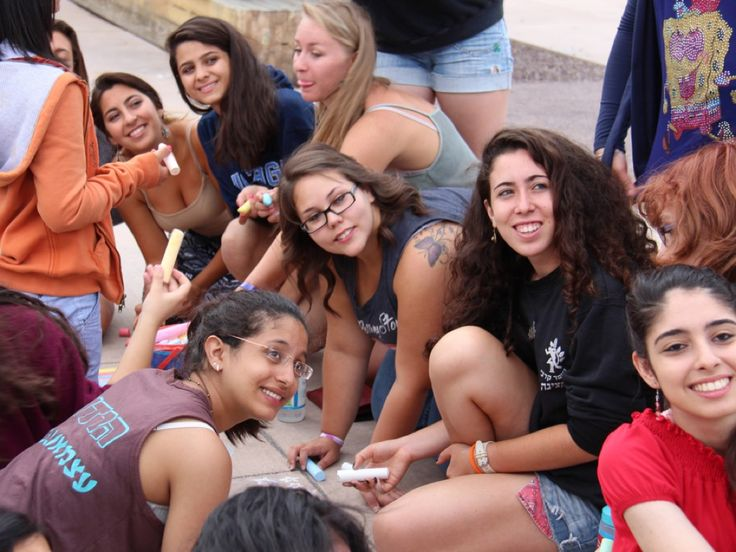 Creativity for Peace - Young Israeli and Palestinian women leading projects to promote peaceful coexistence.