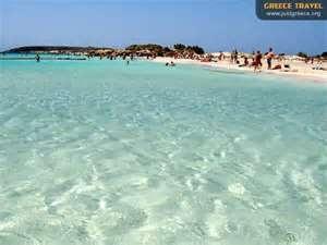 Elafonisi beach, chania greece
