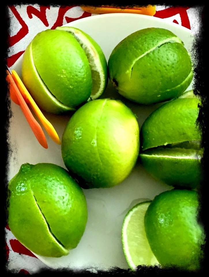 Squeeze touch of lime onto your food just bring the favour out.