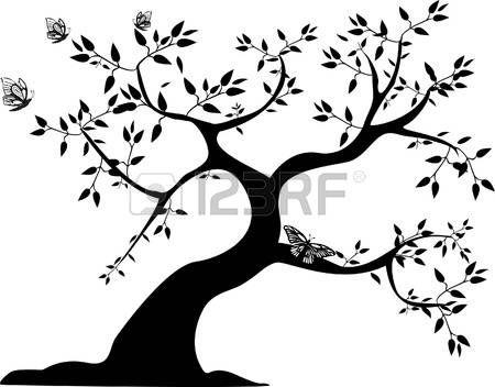 Resultado de imagen para arbol de la vida dibujo blanco y negro