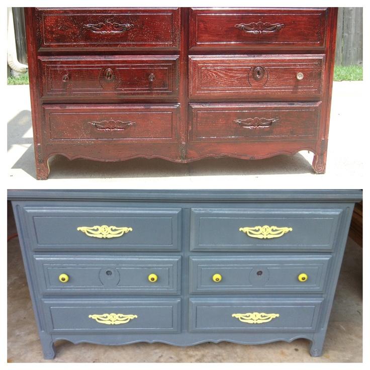 Ideas Paint Dresser