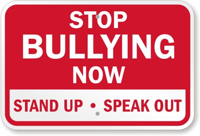 Stand up and say no to bullies, sign petition to fire teachers who bully.  Resource links if you think your child is bullied.  www.inspired-housewife.com