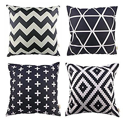 Simple designs for pillow covers to help your home decorating.