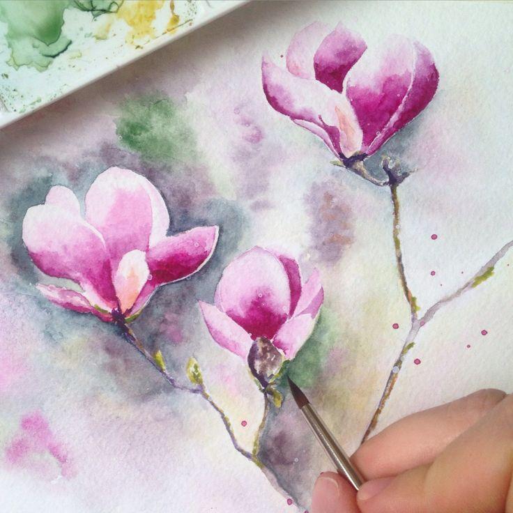 Watercolor by Vólkova Tatiana