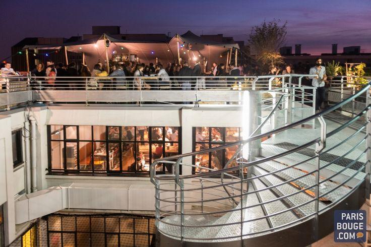 Le Perchoir, un rooftop, un bar mais surtout un restaurant.