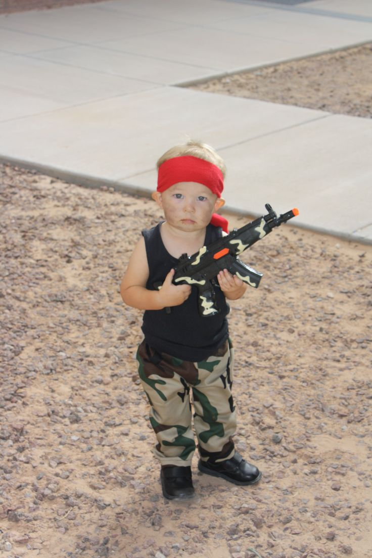 Rambo Costume Ideas Baby Rambo costume | H...