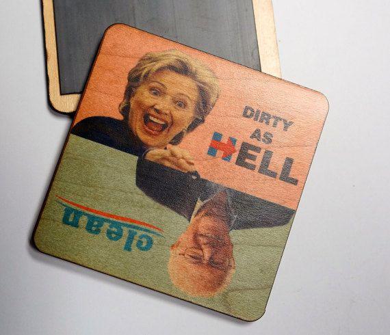Bernie vs Hillary propre sale lave-vaisselle Magnet par WTFCompany