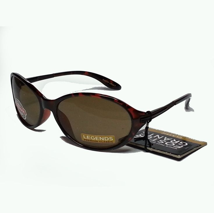 Foster Grant #women sunglasses Brown Oval Shape 100% UV protection spring loaded visit our ebay store at  http://stores.ebay.com/esquirestore