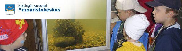 Ympäristökeskus ympäristökasvatuksen etusivun kuva
