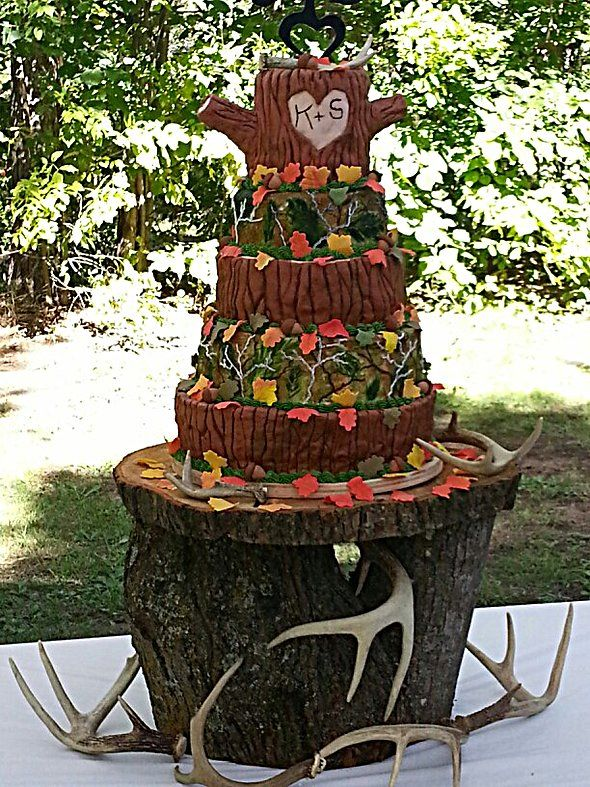 17 Best Ideas About Camo Wedding Cakes On Pinterest Camo