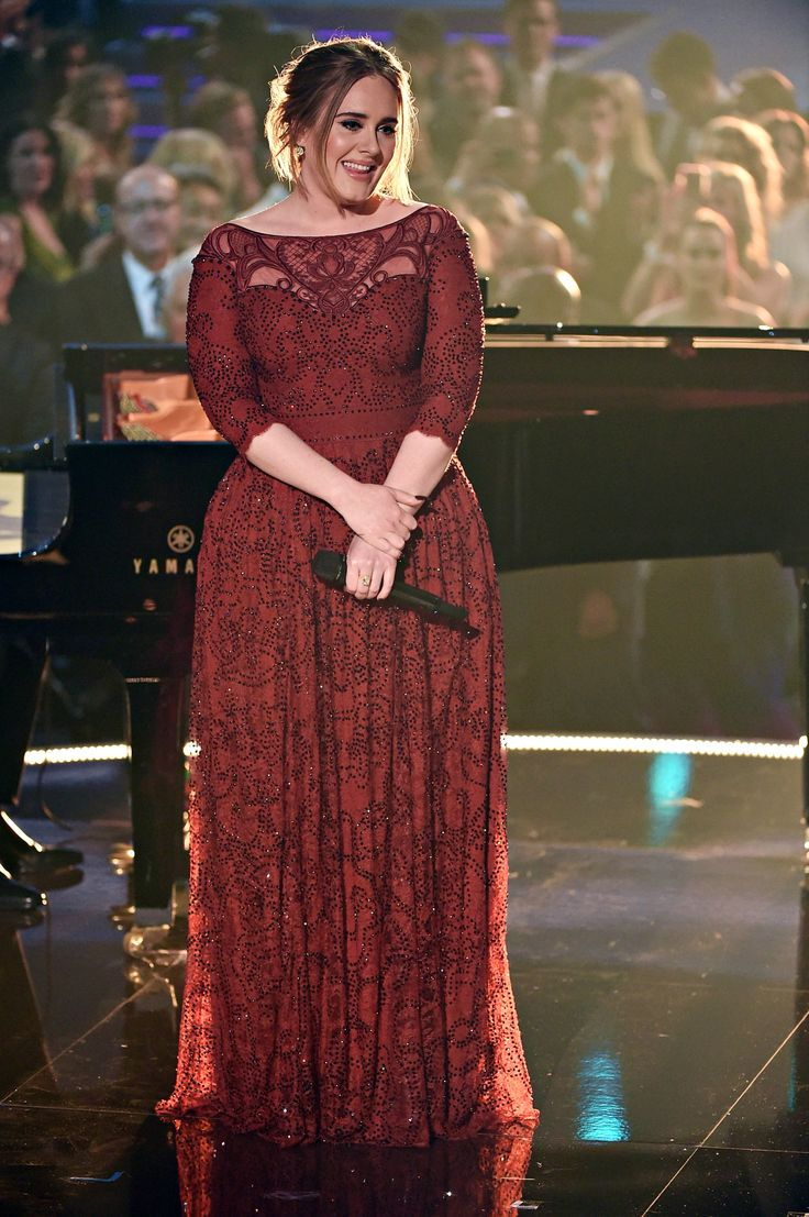 ADELE - 'All I Ask' at the 58th Grammy Awards