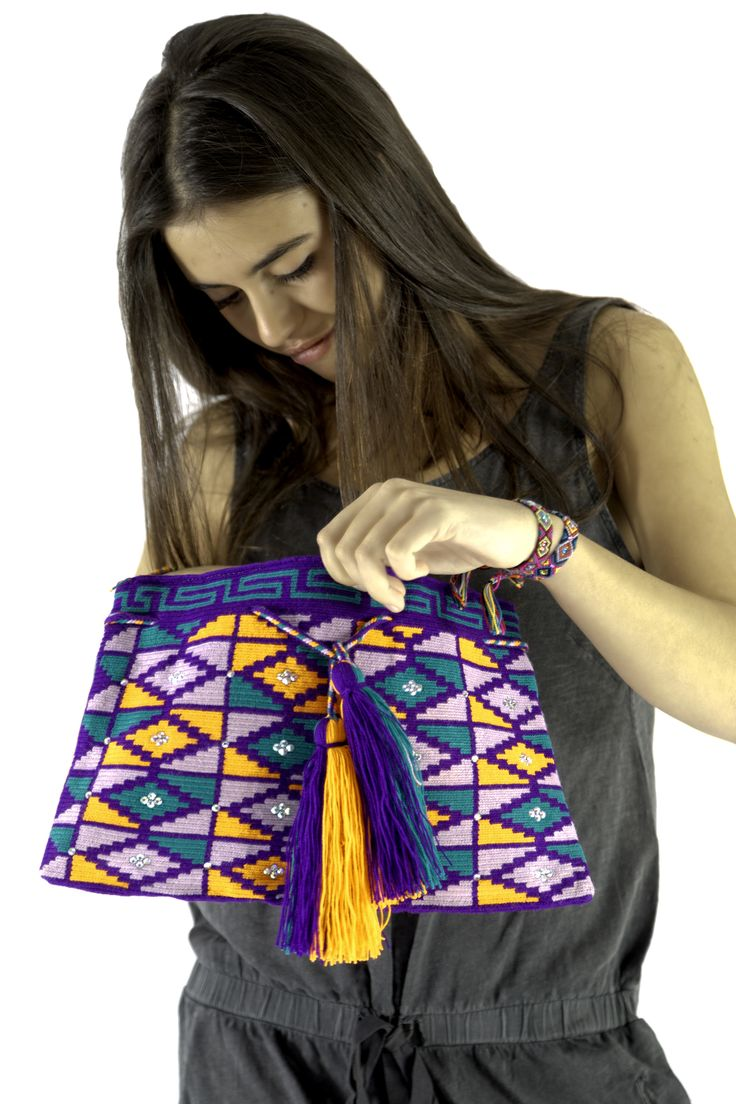A bag crochet