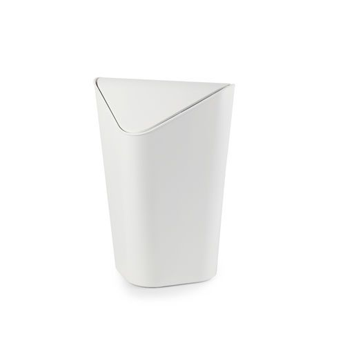 Corner Can roskakori valkoinen
