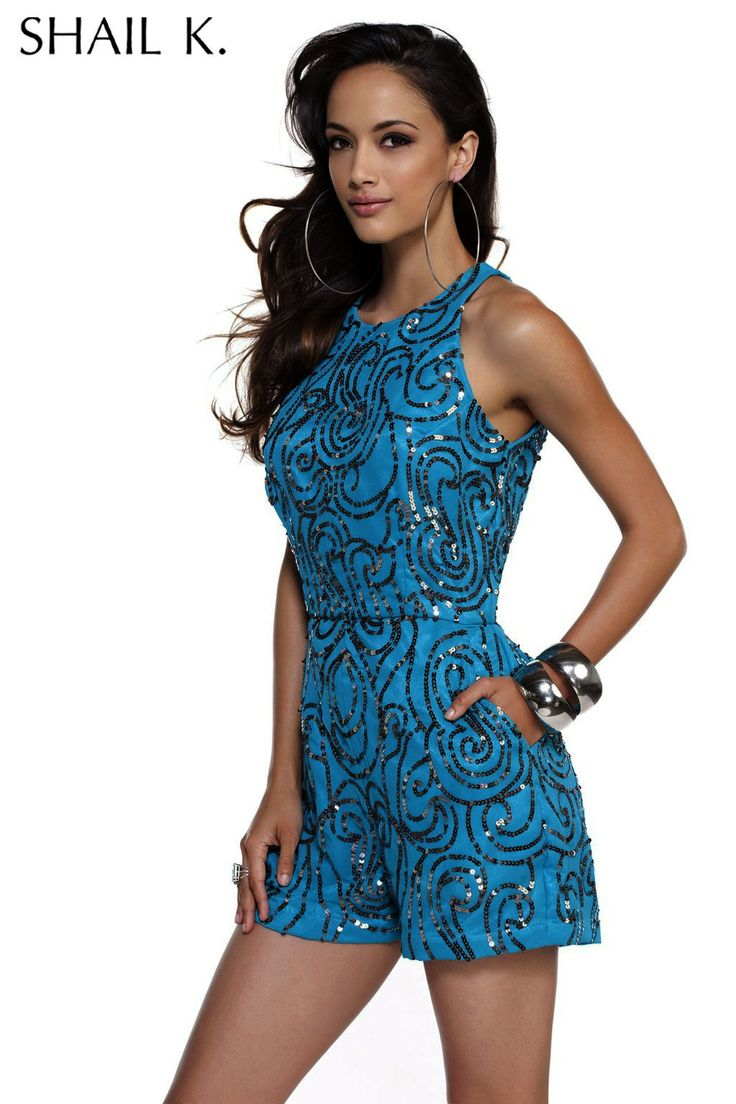 Homecoming Romper Cocktail Party Romper By SHAIL K. 3465 Romper For Formal Occasion! | Fashion ...
