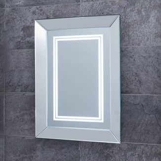 The Concavo 500mm x 700mm LED Mirror is as elegant as it is affordable. A stunning framed mirror the Concavo is a must for an array of different bathroom styles.