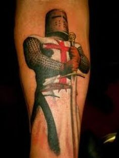 Knight Tattoos And Knight Tattoo Meanings-Knight Tattoo Designs and Ideas-Knight Tattoo Pictures
