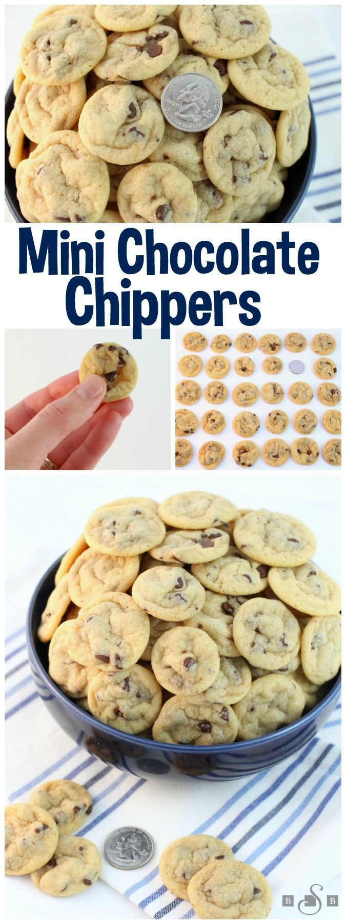 Mini Chocolate Chippers Cookies - Butter With A Side of Bread