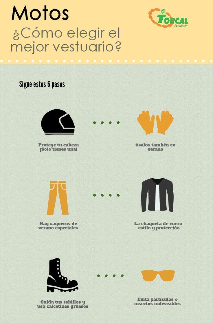 Este es el vestuario más adecuado para tu moto #NoticiasTorcal