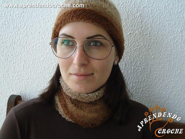 Gorro Versa - Receita de Croche com o Passo a Passo no Link http://www.aprendendocroche.com/receitas-de-croche/video-aula.asp?resid=1402&tree=17