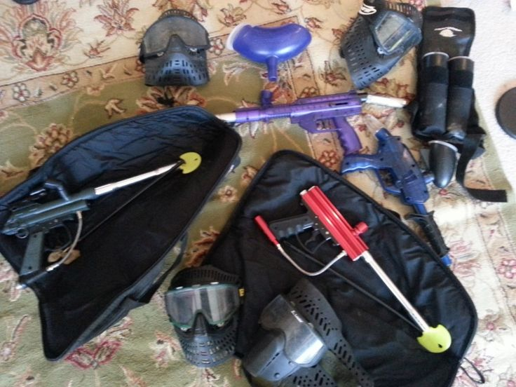 Paintball Set In Evrything4sale S Garage Sale Madison Ms