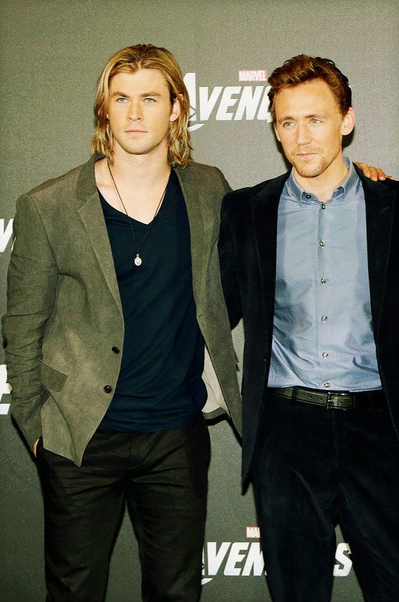 Tom Hiddleston Chris Hemsworth Photoshoot | www.imgkid.com ...