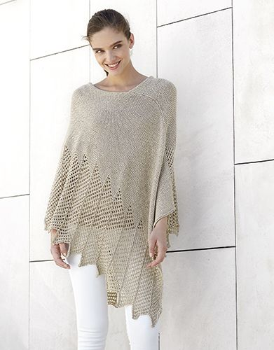 Book Woman Concept 3 Spring / Summer   11: Woman Poncho   Beige