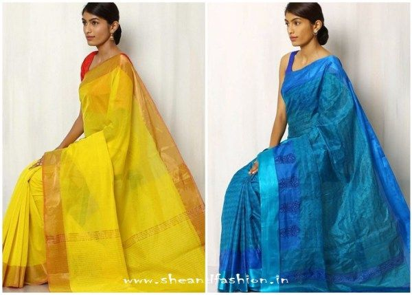Latest South Indian Traditional saree designs 2016