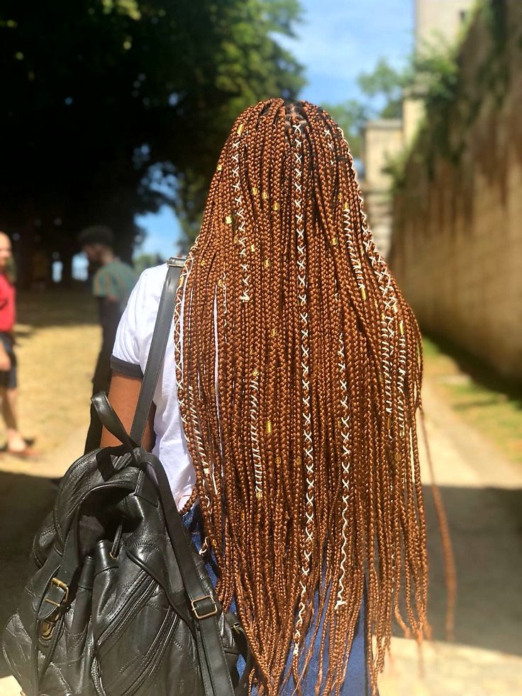 Box Braids Ginger Colored Bb Box Braids Styling Short