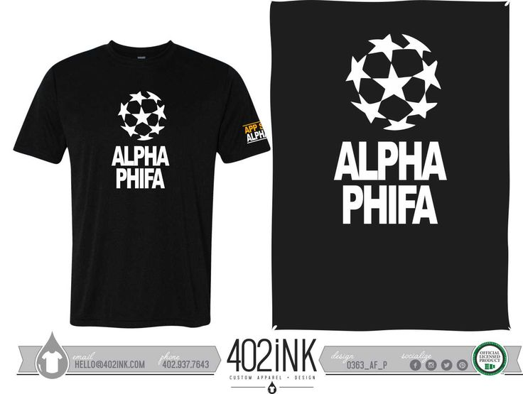 #402ink #402style 402ink, Custom Apparel, Greek T-shirts, Sorority T-shirts, Fraternity T-shirts, Greek Tanks, Custom Greek Apparel, Screen printed apparel, embroidered apparel, Sorority, APHI, Alpha Phi, Philanthropy, Phifa, Fifa, Soccer Philanthropy