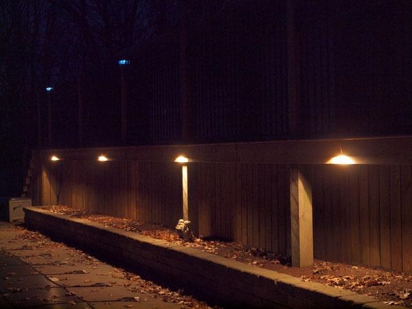 21 Best Fence Lighting Images On Pinterest Fence