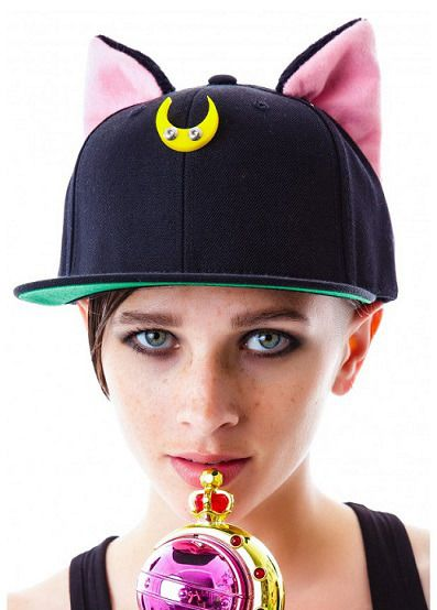 Happy shopping  This hat have 2 color , black and white ! Sailor moon fans must have items