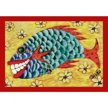 Milliken Don Sawyer Counting Flowers Tropical Rug - P/#536008-C/#6004