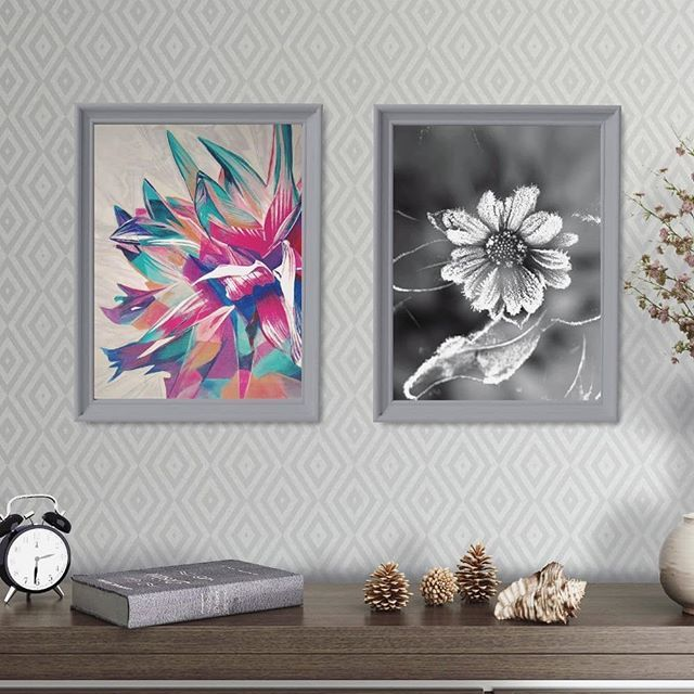 A pair for today - Dahlia and frozen Marigold  Have a lovely Sunday  . . . . Take a look at Digital Prints Set to find a pair of art prints for your home  #printables #instantdownload #digitalprints #wallart #myhouzz#uohome #anthrohome #photosinbetween #theeverygirlathome #homeswithheart#showmehowyoustyle #interiorstyling  #livecolorfully #artforthehome #hotelart #atmine #apartmenttherapy#ambularinteriorsaintgotnothingonme #currentdesignsituation #chichomestyled #stylishhome #homedecorations…