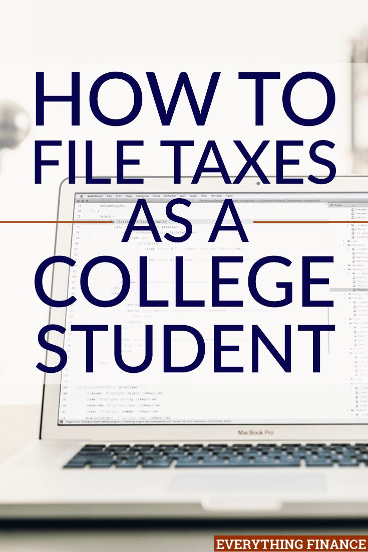 1565 best tax tips images on pinterest tax preparation tax what every college student needs to know about filing their taxes ccuart Images