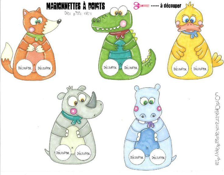 Les 25 meilleures id es concernant marionnettes doigts sur pinterest marionnettes - Marionnettes a doigts a imprimer ...