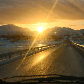 #road #lofoten #norway #ramberg #rocks # snow #adventure #travel #fun