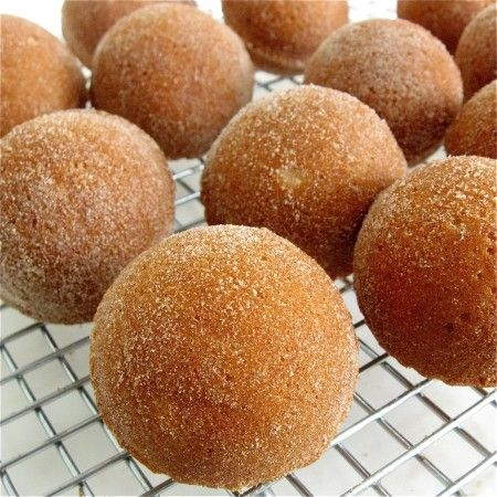 diamond jewelry stores Baked Doughnut Holes it  s what  s missing that counts Blog King Arthur Flour