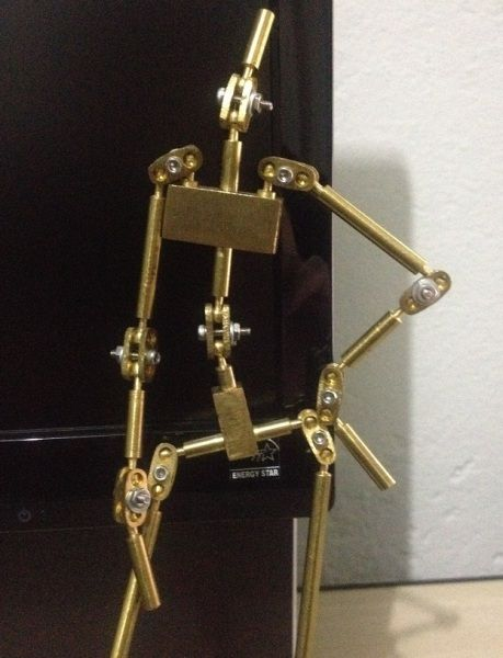 how to make a wire armature for stop motion