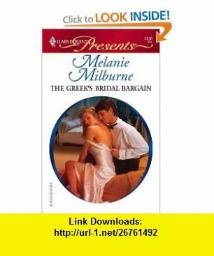 13 best on line ebook images on pinterest pdf africa and antique the greeks bridal bargain harlequin presents 2538 9780373125388 melanie milburne fandeluxe Choice Image